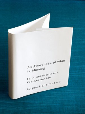 cover image of An Awareness of What is Missing