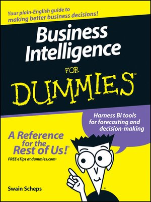 Business Intelligence For Dummies By