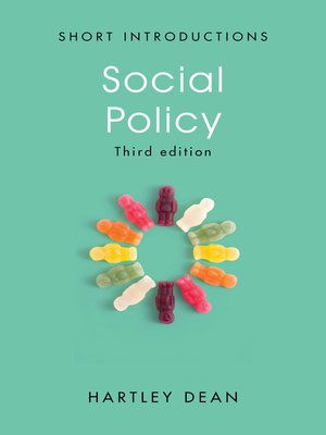 cover image of Social Policy