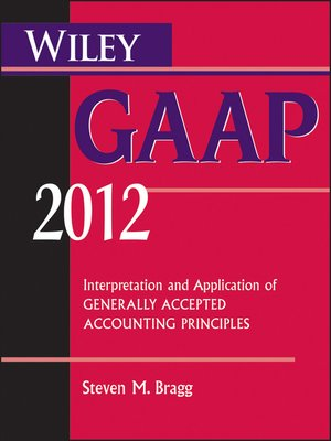 cover image of Wiley GAAP 2012