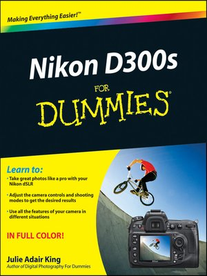 cover image of Nikon D300s For Dummies