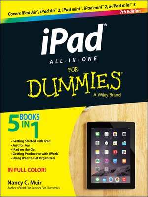 cover image of iPad All-in-One For Dummies