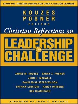 cover image of Christian Reflections on the Leadership Challenge