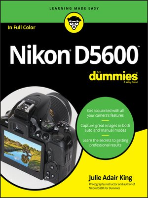 cover image of Nikon D5600 For Dummies