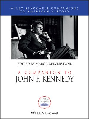 cover image of A Companion to John F. Kennedy
