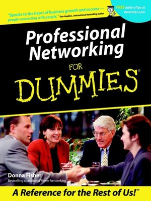 cover image of Professional Networking For Dummies