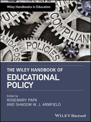 cover image of The Wiley Handbook ofEducationalPolicy