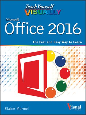 cover image of Teach Yourself VISUALLY Office 2016