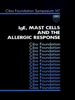 cover image of IgE, Mast Cells and the Allergic Response