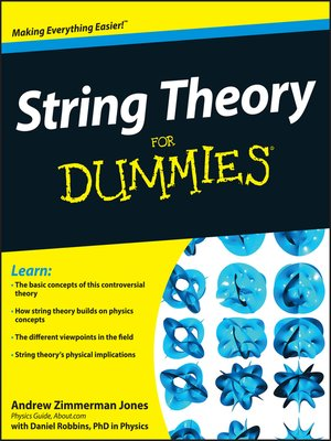 cover image of String Theory for Dummies