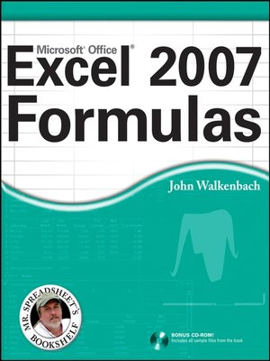 cover image of Excel 2007 Formulas