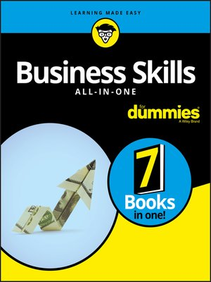 cover image of Business Skills All-in-One For Dummies