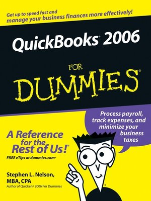 cover image of QuickBooks 2006 For Dummies