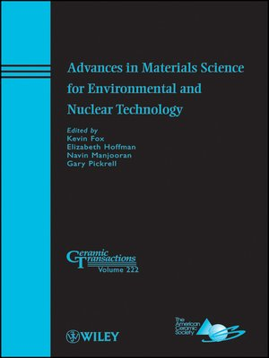 cover image of Advances in Materials Science for Environmental and Nuclear Technology