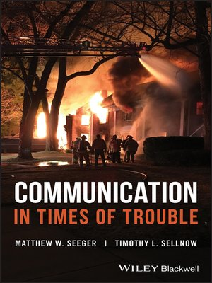 cover image of Communication in Times of Trouble