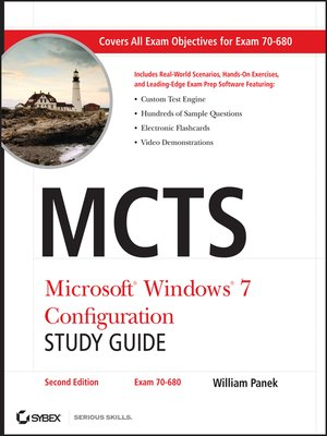 cover image of MCTS Microsoft Windows 7 Configuration Study Guide