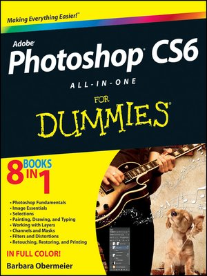 cover image of Photoshop CS6 All-in-One For Dummies