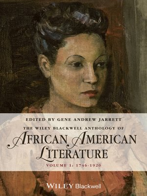 cover image of The Wiley Blackwell Anthology of African American Literature