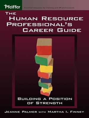 cover image of The Human Resource Professional's Career Guide