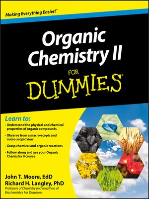 cover image of Organic Chemistry II For Dummies