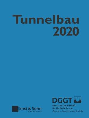 cover image of Taschenbuch für den Tunnelbau 2020