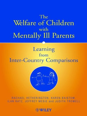 cover image of The Welfare of Children with Mentally Ill Parents