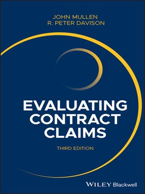 cover image of Evaluating Contract Claims