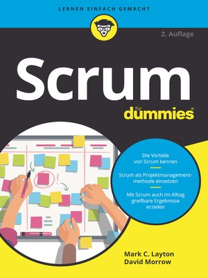 cover image of Scrum für Dummies
