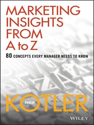 cover image of Marketing Insights from a to Z