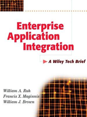 cover image of Enterprise Application Integration