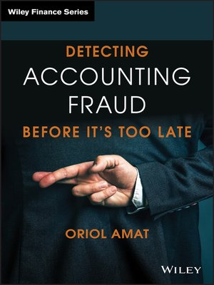 cover image of Detecting Accounting Fraud Before It's Too Late