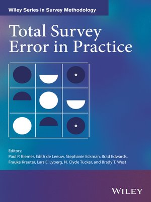 cover image of Total Survey Error in Practice