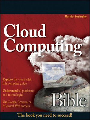 cover image of Cloud Computing Bible