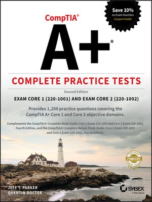 cover image of CompTIA A+ Complete Practice Tests