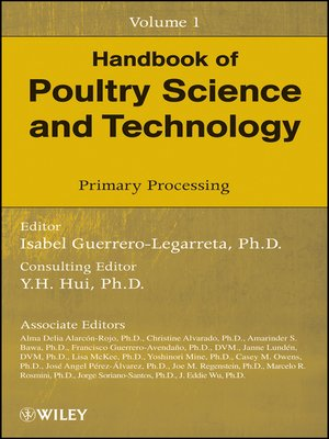 cover image of Handbook of Poultry Science and Technology, Primary Processing