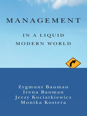 cover image of Management in a Liquid Modern World