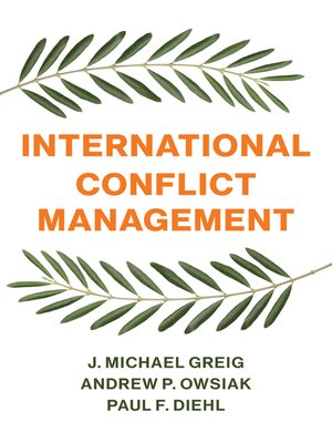 cover image of International Conflict Management