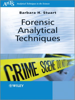cover image of Forensic Analytical Techniques