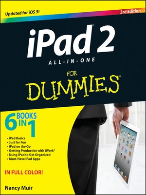 cover image of iPad 2 All-in-One For Dummies