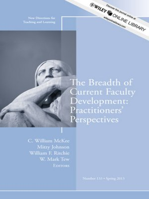cover image of The Breadth of Current Faculty Development
