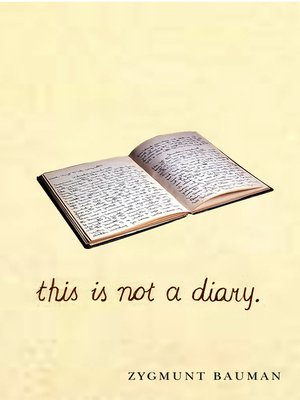 cover image of This is not a Diary
