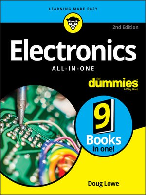 cover image of Electronics All-in-One For Dummies