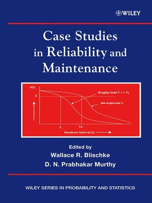 cover image of Case Studies in Reliability and Maintenance