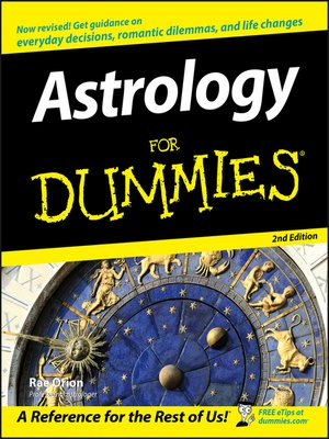 cover image of Astrology For Dummies