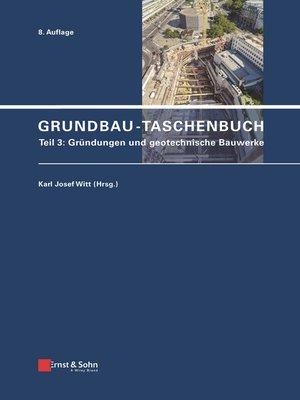 cover image of Grundbau-Taschenbuch, Teil 3
