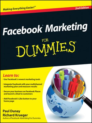cover image of Facebook Marketing For Dummies
