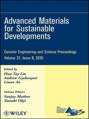cover image of Advanced Materials for Sustainable Developments