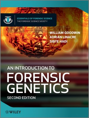 cover image of An Introduction to Forensic Genetics