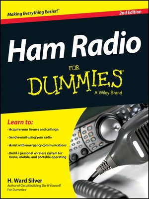 cover image of Ham Radio For Dummies