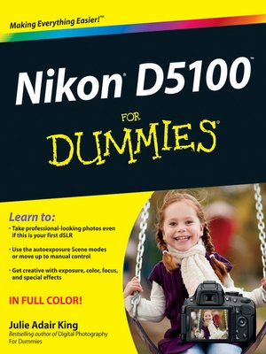 cover image of Nikon D5100 For Dummies